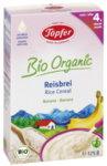 Topfer Бебешка безмлечна каша ориз Lactana (30% пълнозърнест) 4м+. 175 гр.
